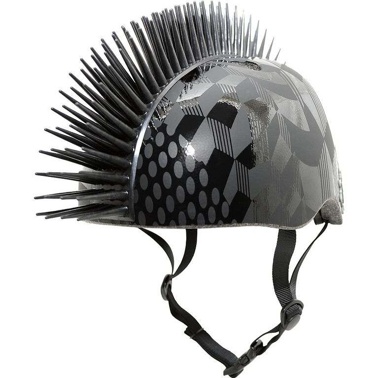Krash Cube - Youth Helmet 8+ (Fits Heads 54-58cm) - Hurt Hawk - Black