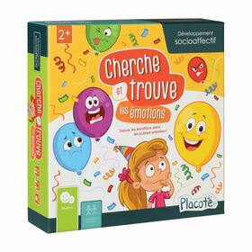 Cherche et Trouve les Émotions - Placote - jeu éducatif - Édition française