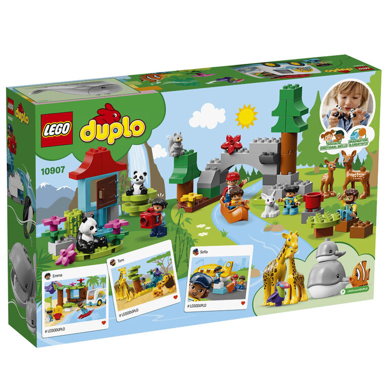 LEGO DUPLO Town World Animals 10907