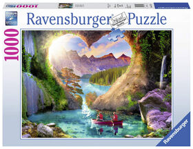 Ravensburger! Heartview Cave casse tête (1000pc)