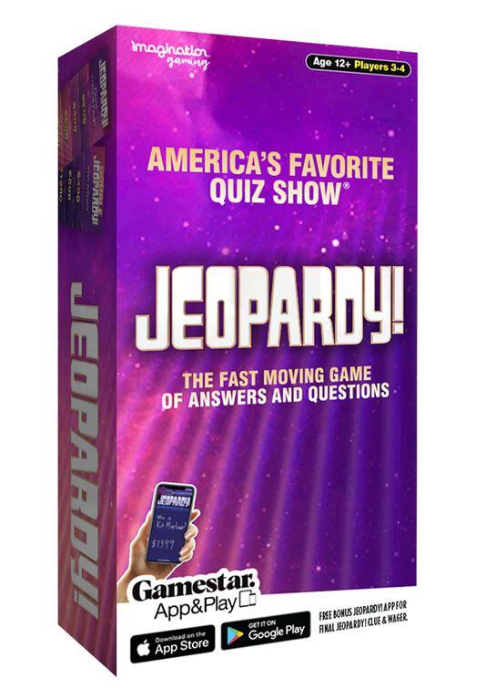 Jeopardy - Édition anglaise