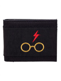 Harry Potter PU Bifold Wallet Icons