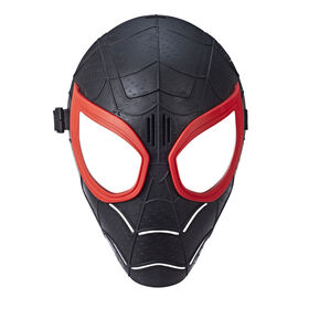 Spider-Man Into the Spider-Verse - Masque à effets spéciaux de Miles Morales.