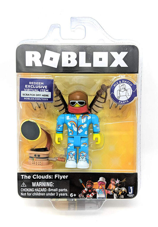 Roblox Celebrity The Clouds: Flyer Core Figure Pack