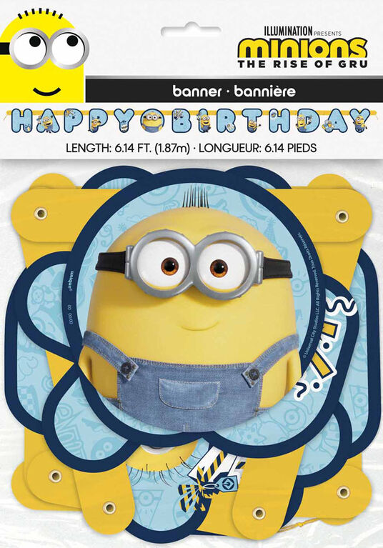 Minions Large Jointed Banner - English Edition