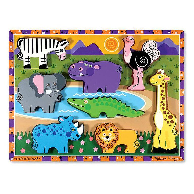 Melissa & Doug - Casse-tête épais Safari
