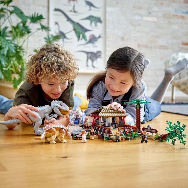 LEGO Jurassic World L'Indominus Rex contre l'Ankylosaure 75941