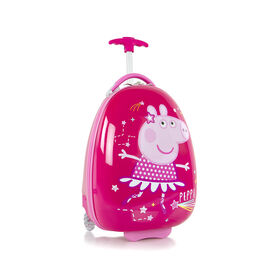 Peppa Egg Shape Kids Luggage