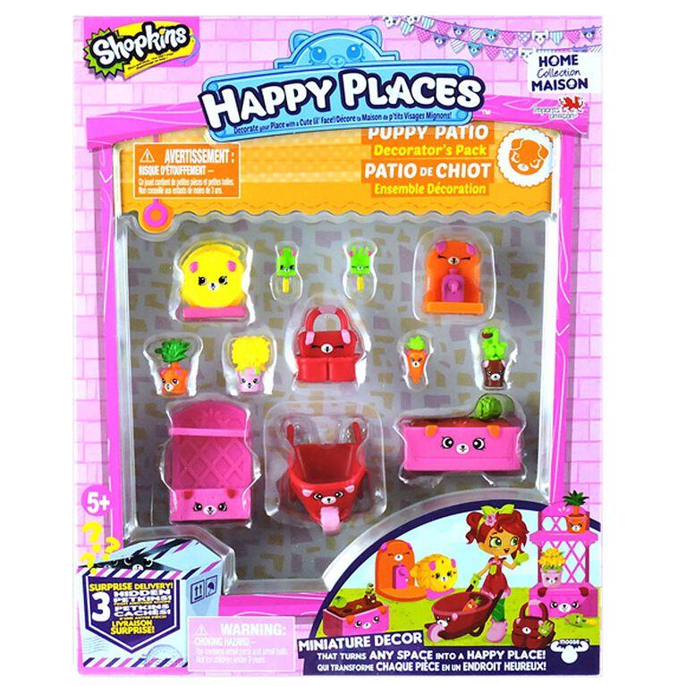 Shopkins Happy Places Season 2 Decorator Pack - Puppy Patio