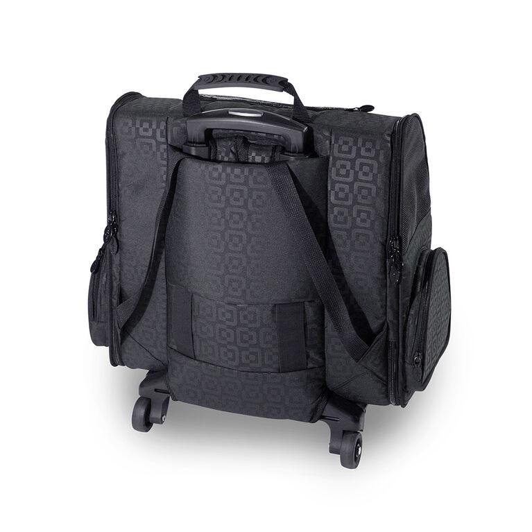 Gen7Pets RC2000 Roller-Carrier Pet Carrier - Black Geometric