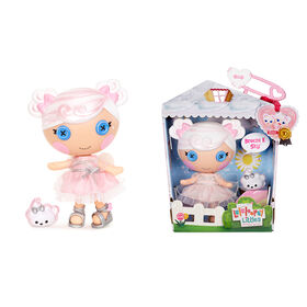 """Lalaloopsy Littles Doll - Breeze E. Sky  with Pet Cloud, 7"""" angel doll"""