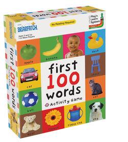 Premier jeu d'activité 100 mots - Édition anglaise