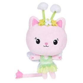DreamWorks Gabby's Dollhouse, 7-inch Kitty Fairy Purr-ific Plush Toy
