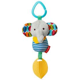 Skip Hop Bandana Buddies Chime & Teethe Toy - Elephant
