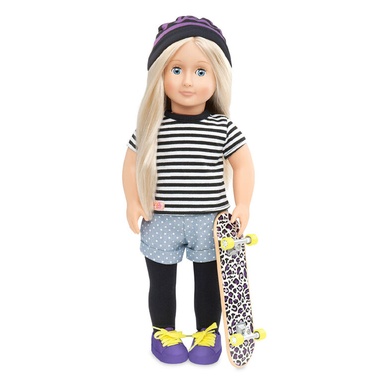 Our Generation, That's How I Roll, Skateboarding Outfit for 18-inch Dolls