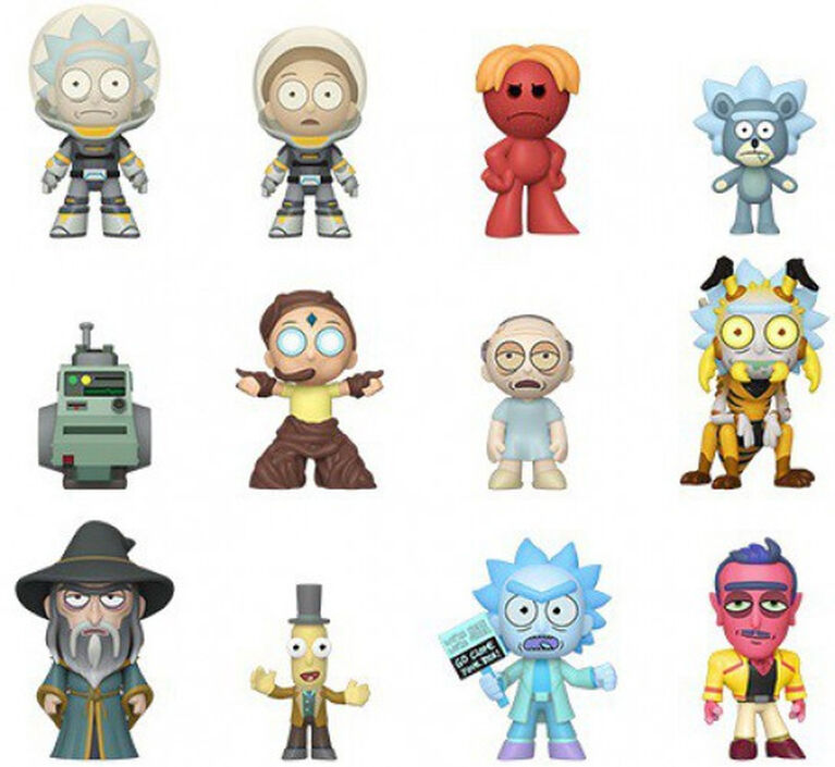 Funko Mystery Minis Animation: Rick and Morty - English Edition