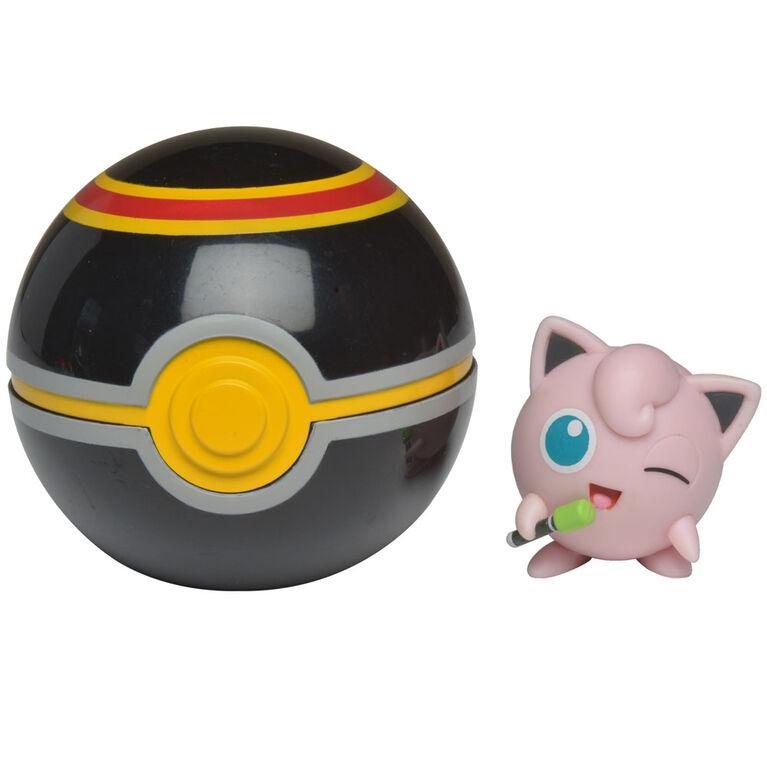 Pokémon Clip 'N' Go - Jigglypuff #1 & Luxuary Ball - English Edition