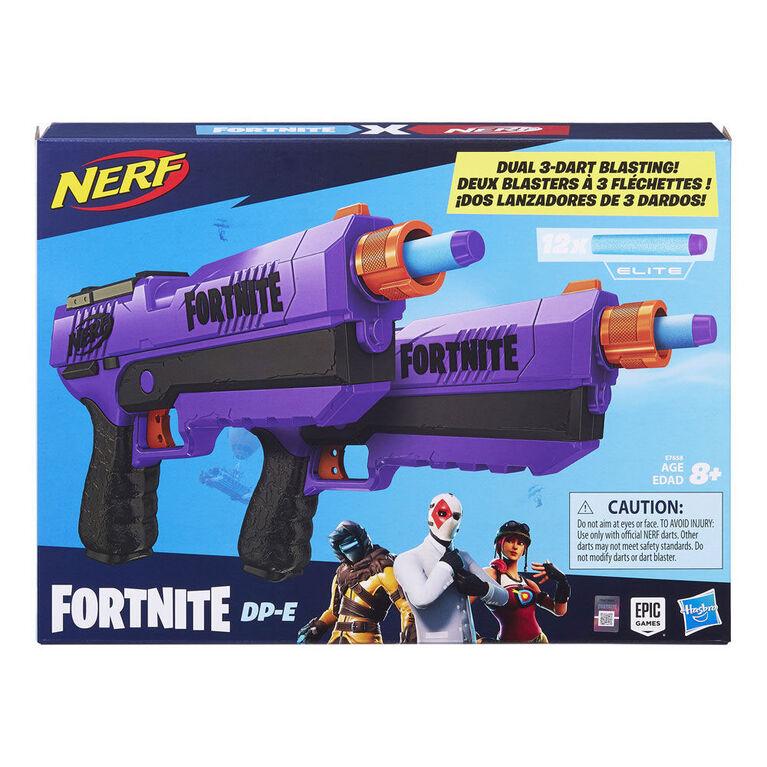 Nerf Fortnite blasters à fléchette DP-E - Notre exclusivité