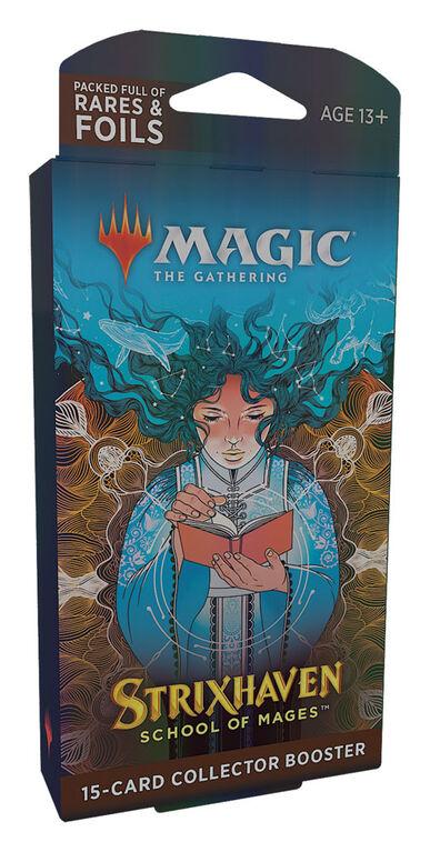"""Protège-cartes booster collector """"Strixhaven: l'Académie des Mages"""" de Magic Le Rassemblement - Édition anglaise"""