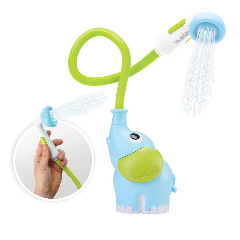 Éléphant lanceur d'eau à piles Yookidoo