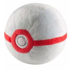 """Pokémon 4"""" Pokeball Plush - Premiere Ball"""