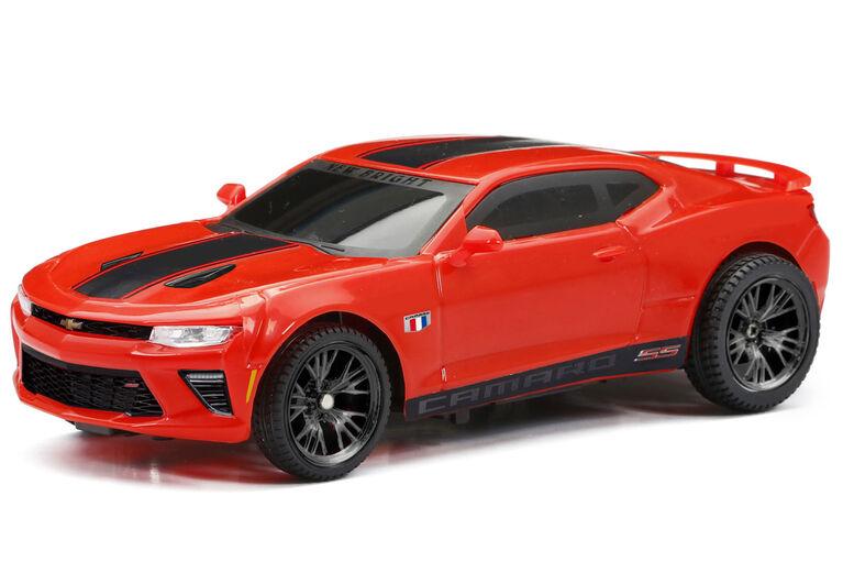 New Bright - 1:24 Scale Radio Control -  Custom Camaro - Red