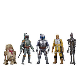 Star Wars Celebrate the Saga Toys Bounty Hunters Figure Set, 3.75-Inch-Scale Collectible Action Figure 5-Pack