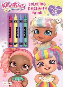 Livre De Coloriage Et D'Activités Avec Crayons De Cire – Kindi Kids  - Édition anglaise