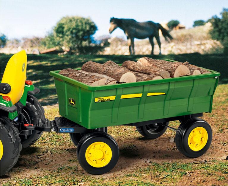 Peg Perego - Chariot de Ferme pour les jouets de randonnée de Peg Perego.