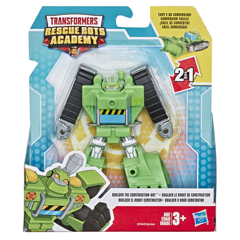 Robot convertible Playskool Heroes Transformers Rescue Bots Academy - Boulder
