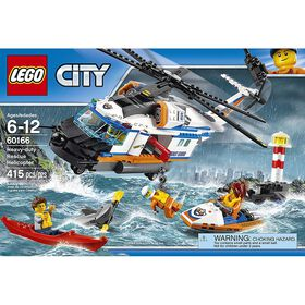 LEGO City Coast Guard Heavy-duty Rescue Helicopter 60166