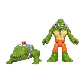 Imaginext - DC Super Friends - K. Croc et crocodile