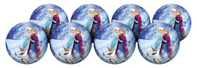 8 Pack Playball with Pump 10 inch Frozen