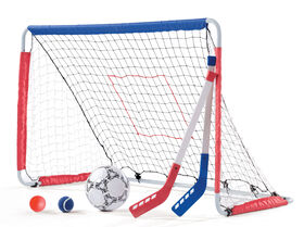 Step2 3-In-1 Soccer, Hockey & Pitchback Goal