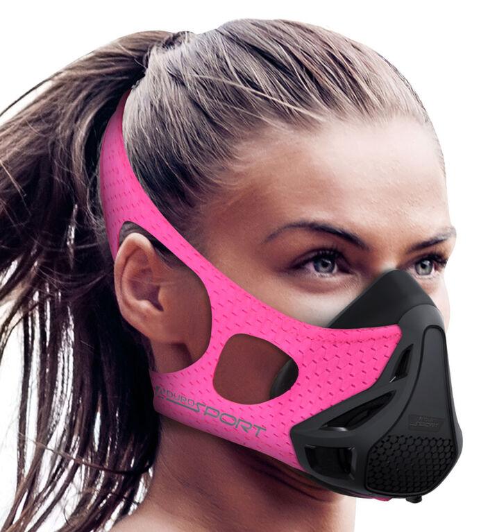 Aduro Sport Peak Resistance High Altitude Training Mask - Pink