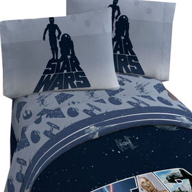 Star Wars Ensemble de draps pour lit 1 place