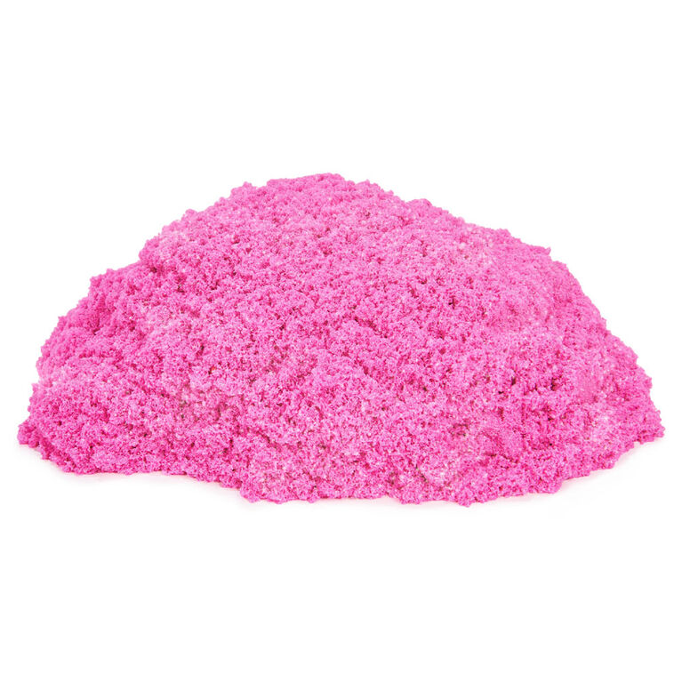 Kinetic Sand, Crystal Pink 2lb Bag of All-Natural Shimmering Sand for Squishing, Mixing and Molding