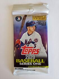 Booster Baseball Série 1 2020 De Topps