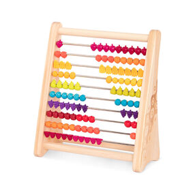 Wooden Abacus W/ Fruits