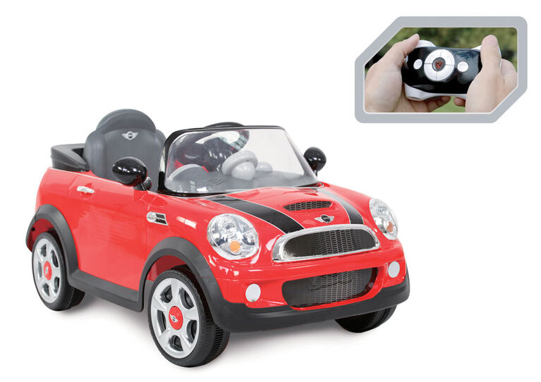 Rollplay 6V Mini Cooper Red With RC