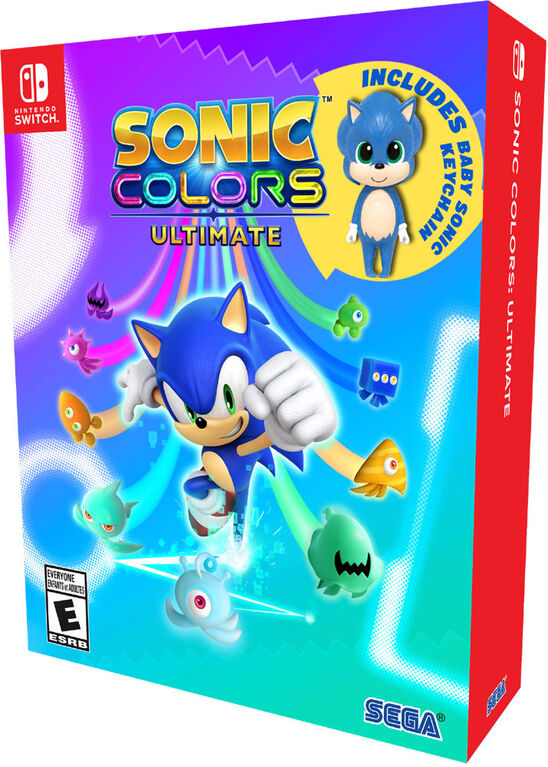 Nintendo Switch-Sonic colors Ultimate:Launch Edition