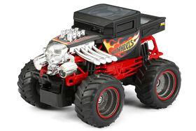 New Bright RC 1:24 Scale Hot Wheels Monster Truck Radio Control Jouet -  Les couleurs et les motifs peuvent varier.