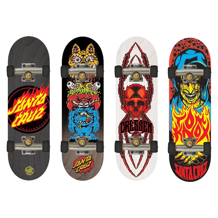 Tech Deck - 96mm Fingerboards - 4-Pack - Santa Cruz