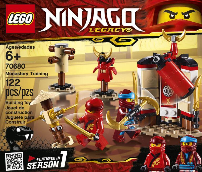 LEGO Ninjago L'entraînement au monastère 70680