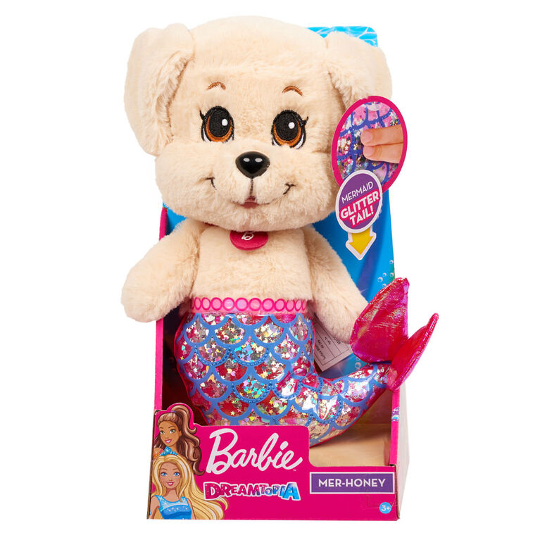 Barbie Dreamtopia Mer Golden Puppy Plush