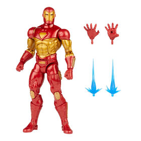 PRE-ORDER, SHIPS JUL 5, 2021 - Hasbro Marvel Legends Series Modular Iron Man Action Figure Toy, Includes 4 Accessories and 1 Build-A-Figure Part