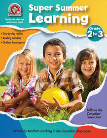 Super Summer Learning Grade 2 to 3 Workbook