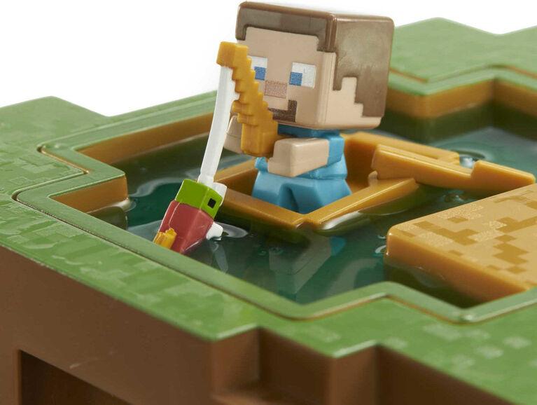 Minecraft Transforming Oasis Playset