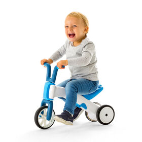 Chillafish Bunzi: 2-in-1 Gradual Balance Bike & Tricycle, Blue