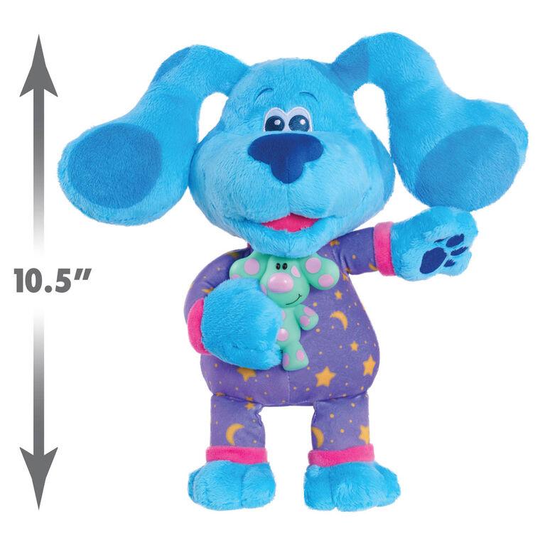 Blue's Clues & You! Bedtime Blue (peluche de 33 cm (13 pouces) - Édition anglaise - Notre exclusivité
